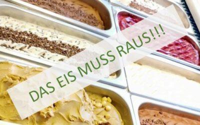 Abverkauf: Neulinger Eis zum Sonderpreis
